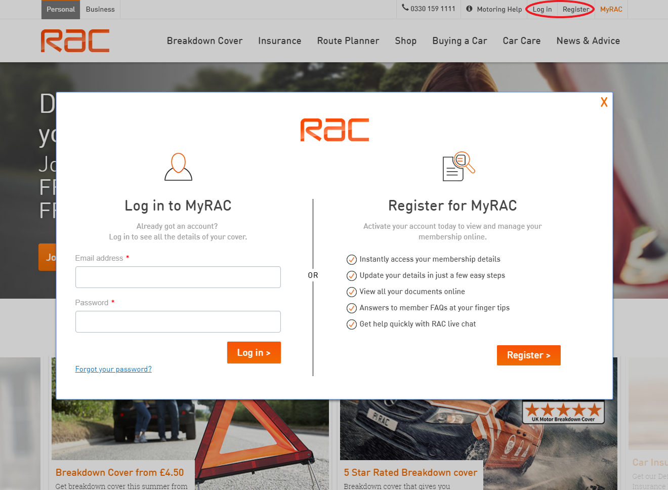 How to Cancel Your RAC Membership in 2018