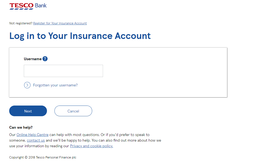 Cancel Tesco car insurance