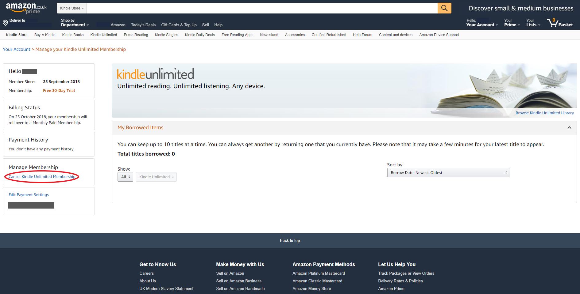 Cancel Kindle Unlimited 2019 – 0843 557 3643 | FastCancel co uk