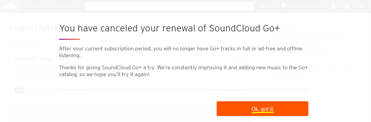 Cancel Soundcloud Go 2019 – 0844 257 4100 | FastCancel co uk